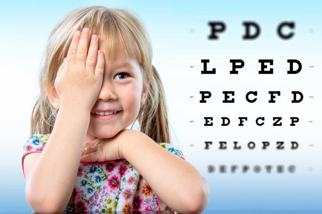 how do i protect my childs sight